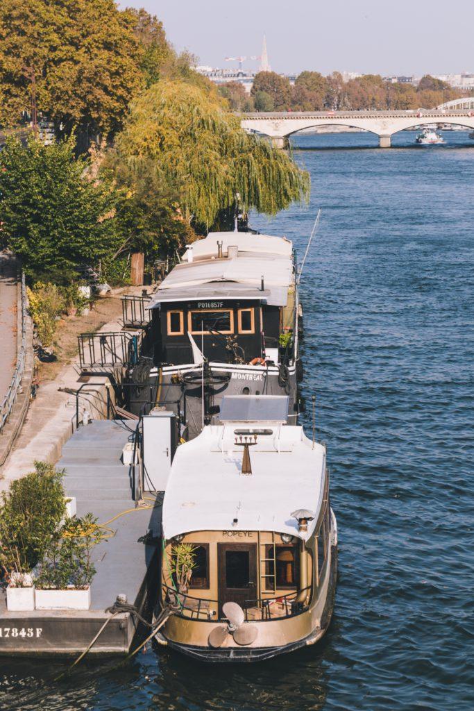 パリの船上生活者「Pénichard(ペニシャール)」