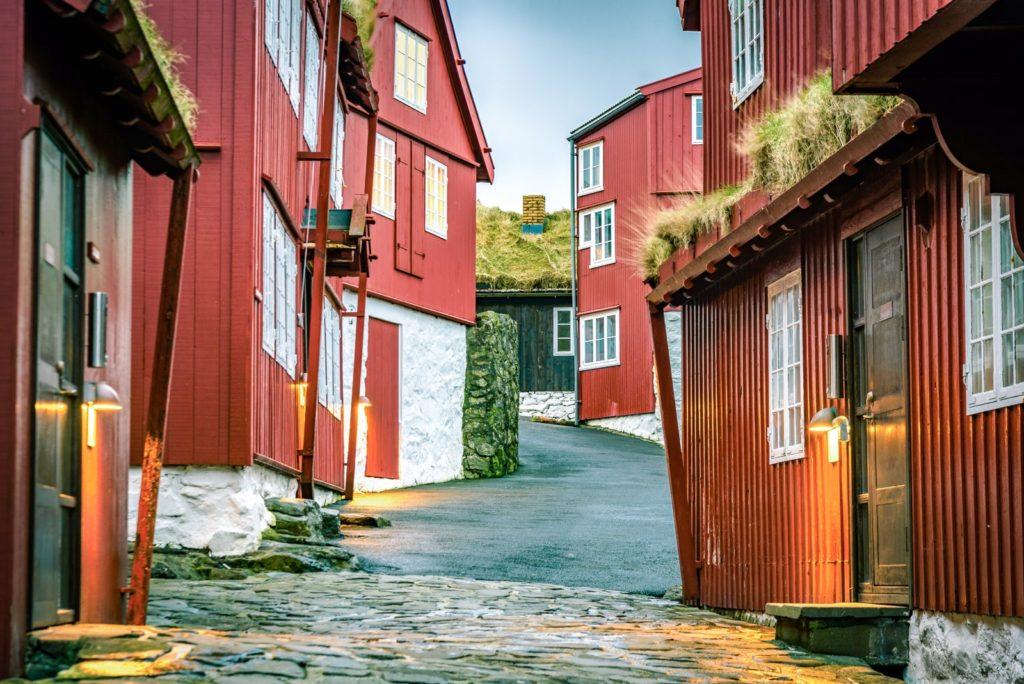 デンマーク「ファロエ諸島・トーストースハウン」